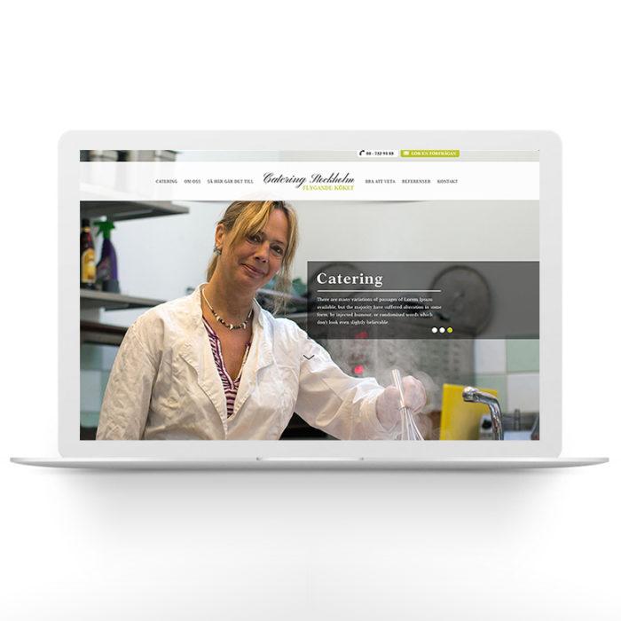 Webbdesign – Catering Stockholm