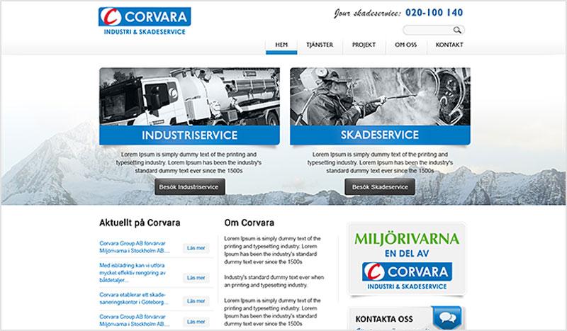 Webbdesign – Corvara