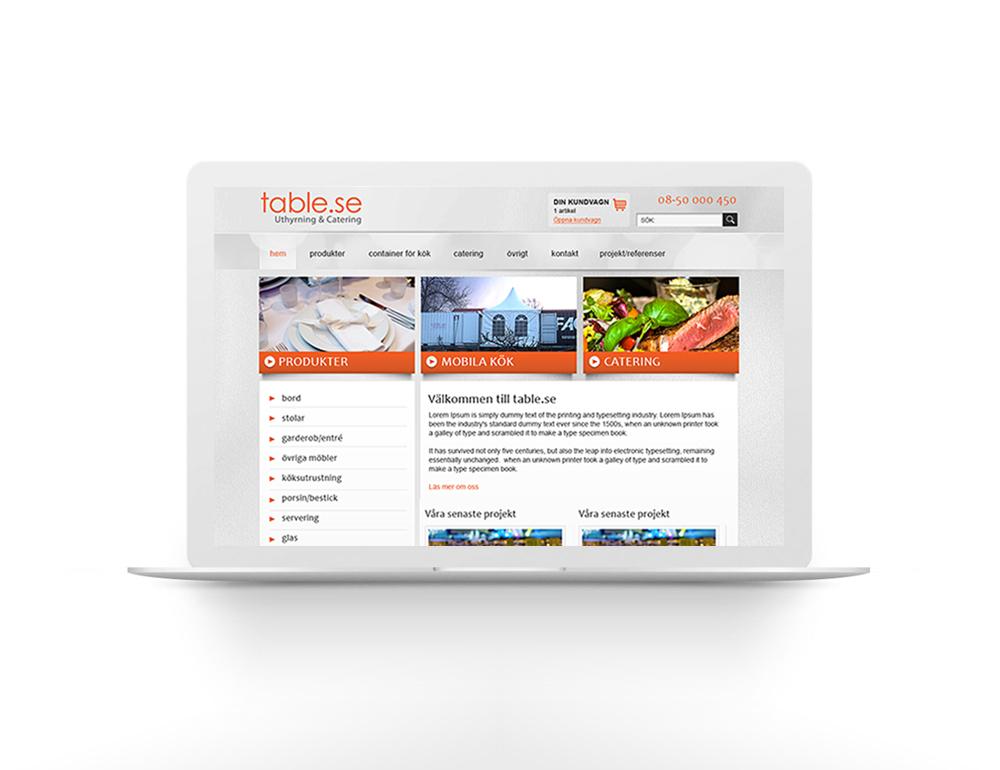 Hemsida och e-handel – Table