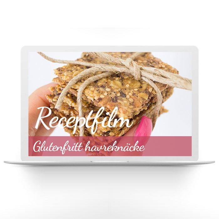 Receptfilm – glutenfritt havreknäcke