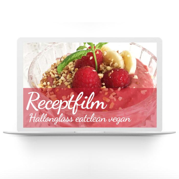 Receptfilm – Hallonglass