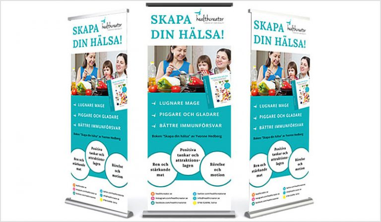 Roll-up – Skapa din hälsa