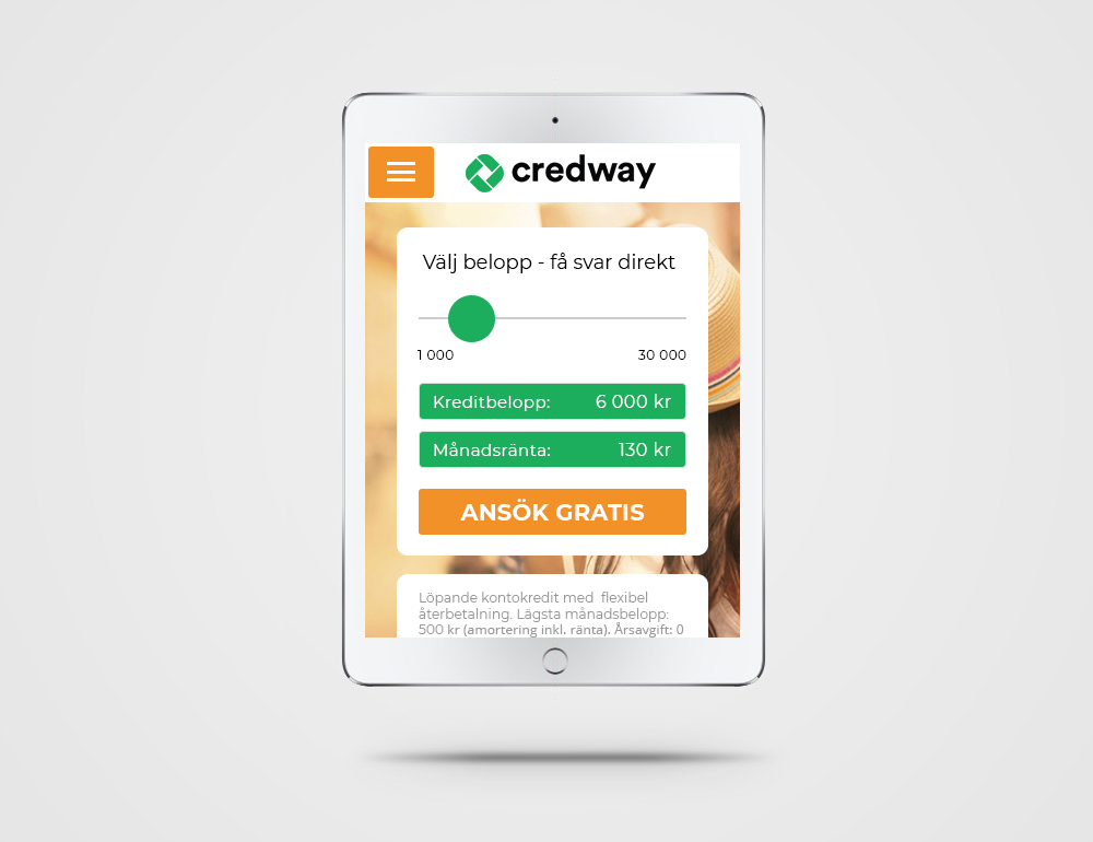 Loanslider – Credway